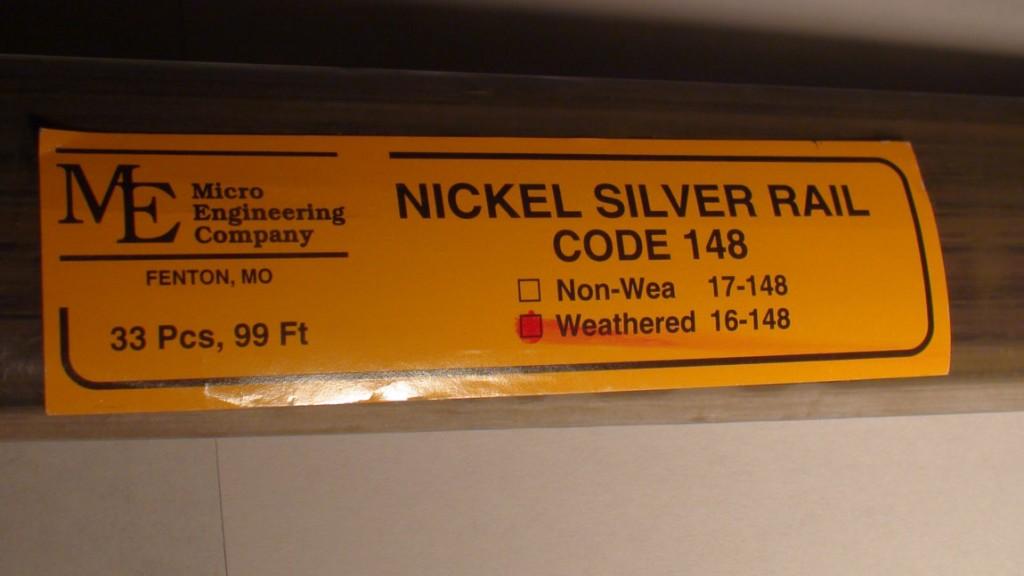 Micro Engineering 16-148 o código 148 36  resistido Cocheril de plata de níquel