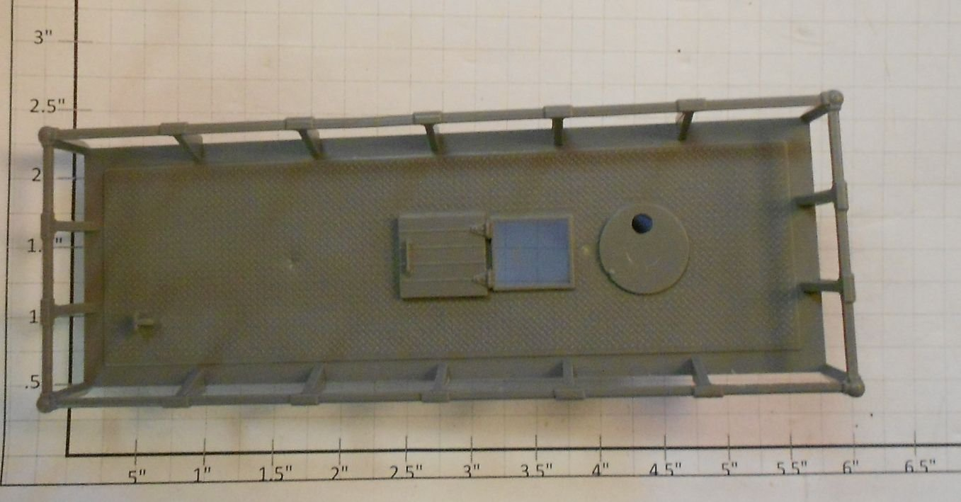 Lionel 6812-35  Maintenance Car Gris Platform