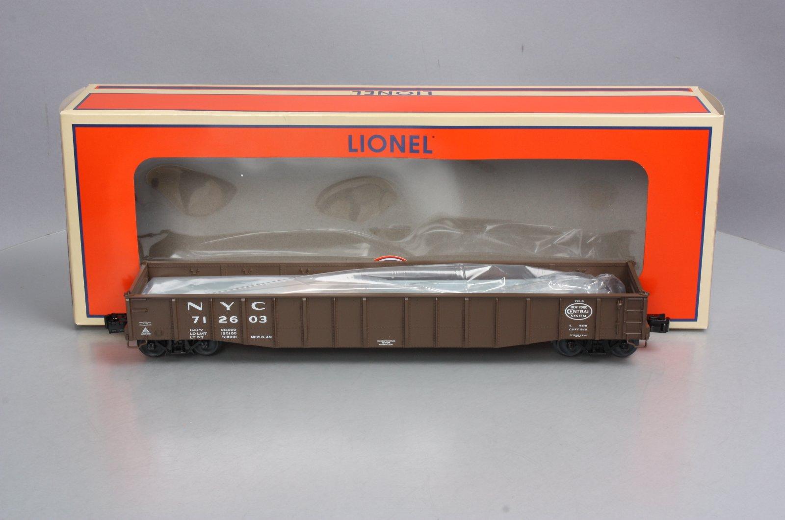 Lionel 682864 o New York Central PS-5 Gondola Con Carga