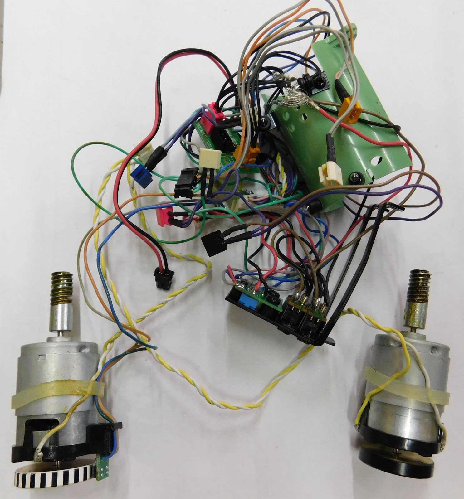 MTH 20-20099-1M Motors & Wire Harness Assembly