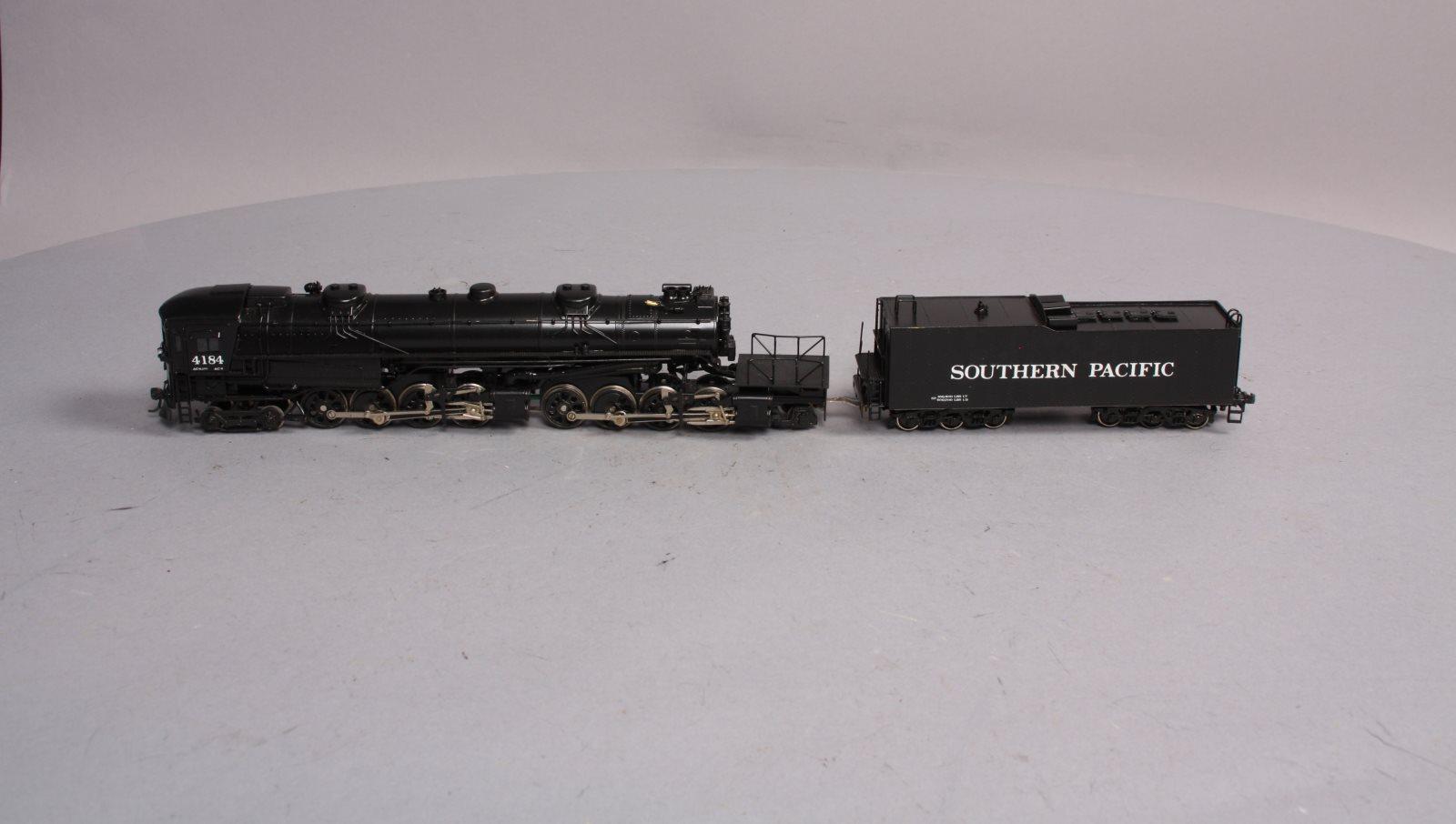 Details about Akane HO BRASS SP Cab Forward 4-8-8-2 Steam Locomotive &  Tender #4184 EX
