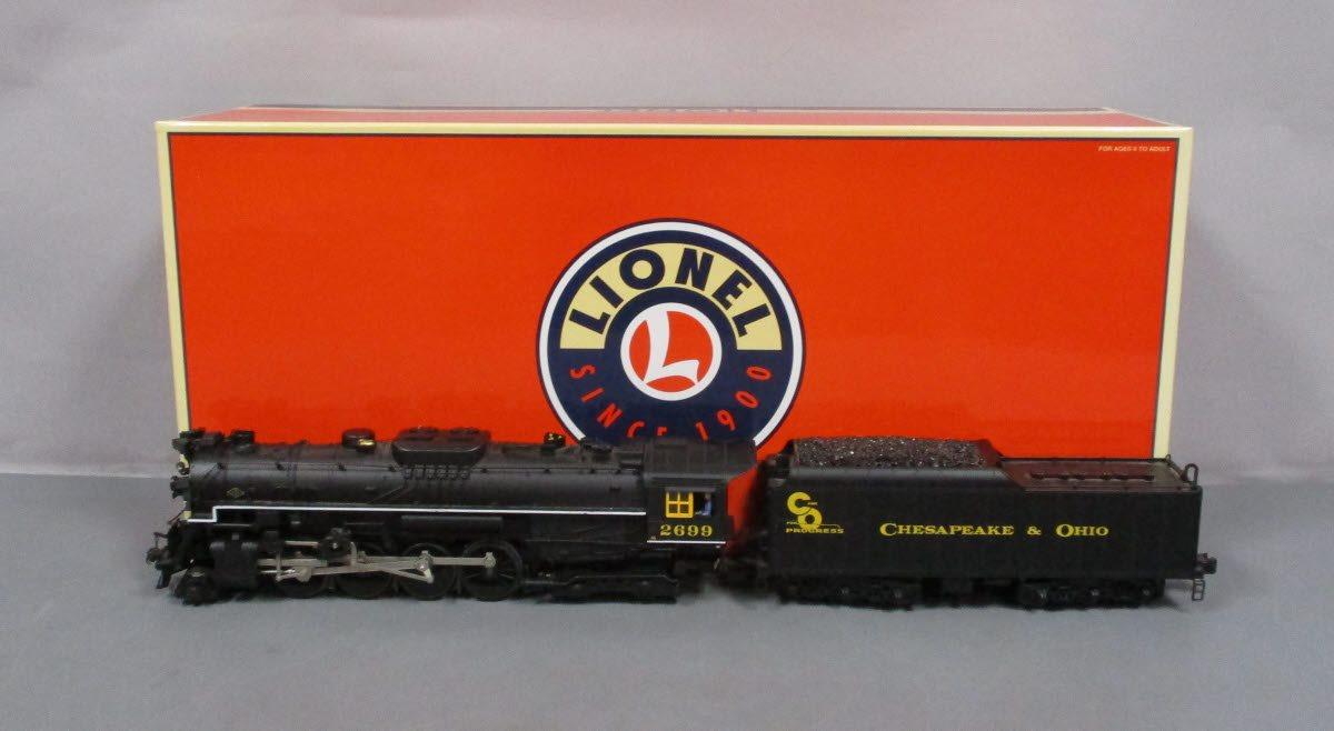 Details about Lionel 6-38076 C&O 2-8-4 Berkshire Steam Locomotive EX/Box