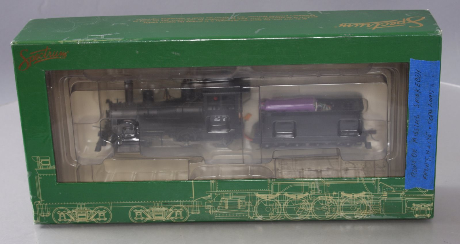 Bachmann 28304 On30 Painted 4-4-0 American Steel Cab/Box | eBay