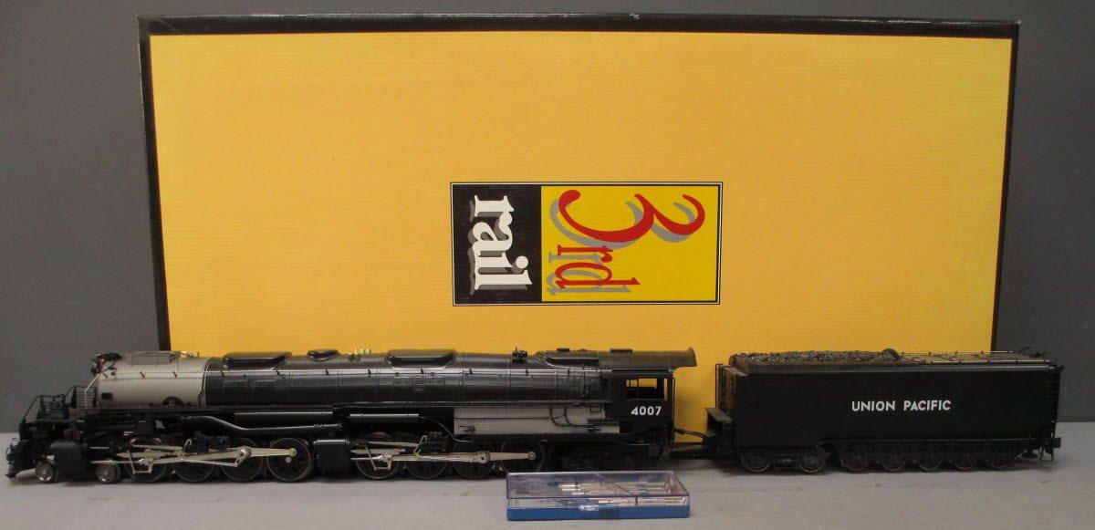 Details about 3rd Rail 4007 Union Pacific Big Boy 4-8-8-4 Steam Locomotive  #4007 (3-Rail) EX