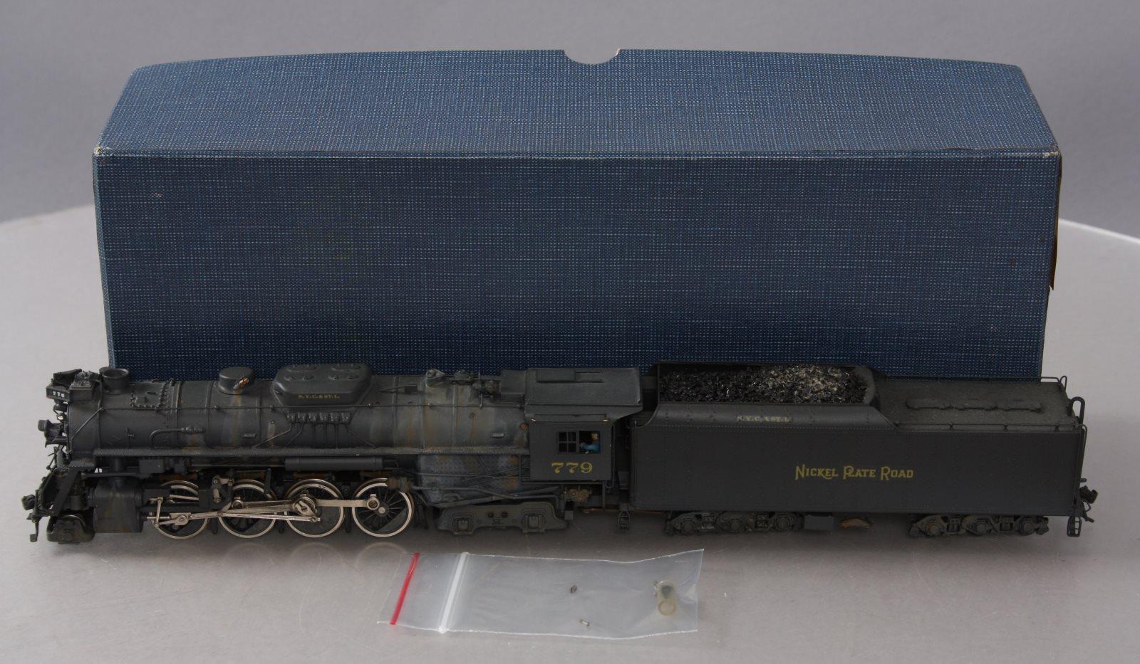 United Models HO BRASS Nickel Plate Road 2-8-4 Steam Loco