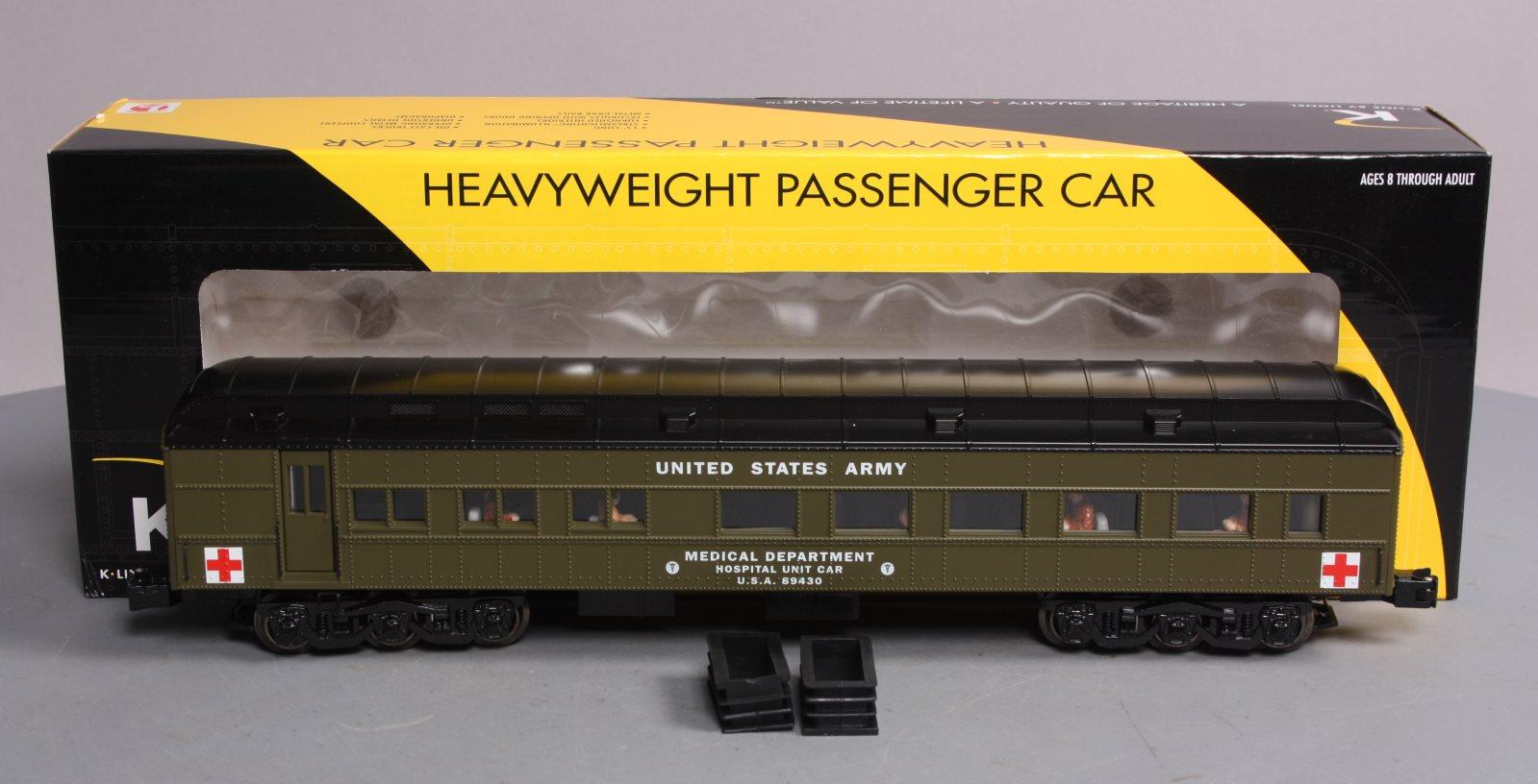 comprar marca Lionel 6-21227 o calibre US US US Army Hospital Pasajero Coche LN Caja  entrega de rayos