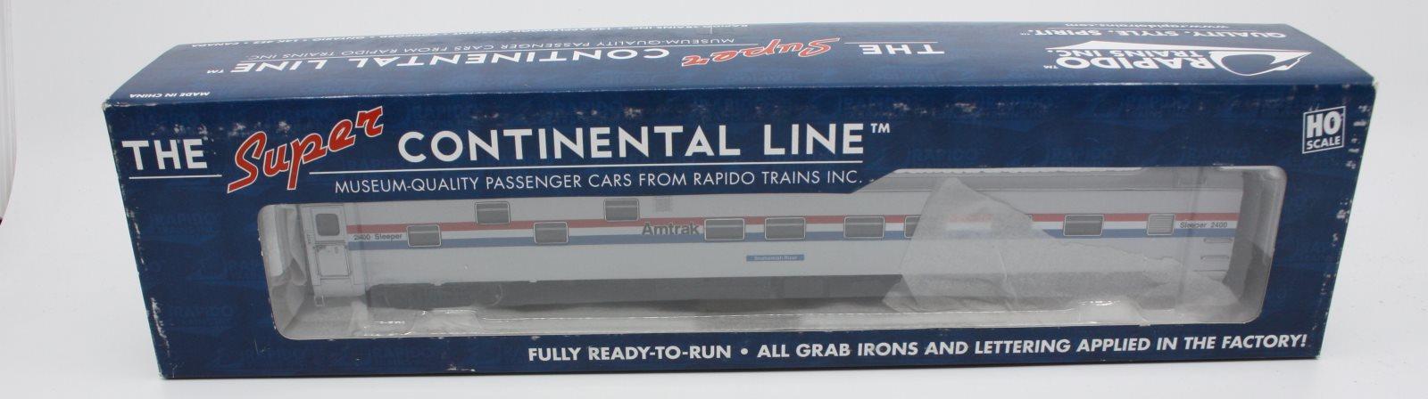 Rapido Trains 101086 Duplex Sleeper Amtrak Phase 3 Snohmish
