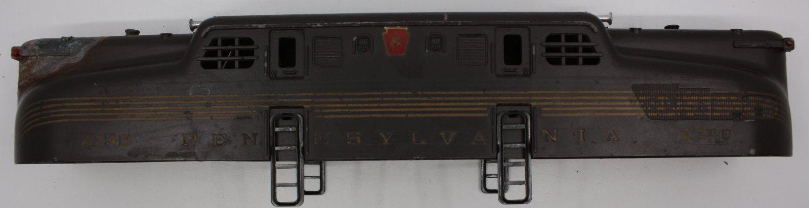Lionel 8024-T55 Marker Lamp Lens 3 Prr S-1 Tender Red